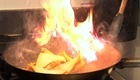Clip | CHOW Tip: How to Avoid Sauté Fires    Craig von Foerster, executive chef of the Post Ranch Inn's Sierra Mar Restaurant, says down with macho sauté-pan fires—your friends will not be impressed to see you burn your eyebrows off. Here's the right way to flip food in a pan. 4/21/09