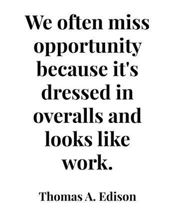 opportunity // edison