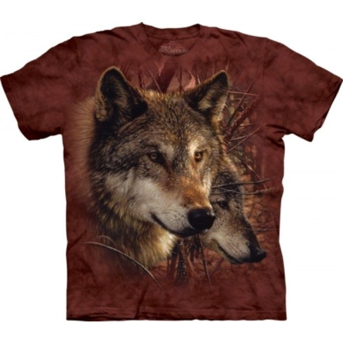 Tricouri The Mountain – Tricou Forest Wolves