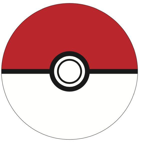 Pokemon Pokeball - INSTANT DOWNLOAD