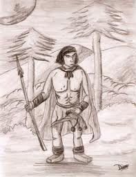 """Leyenda Mapuche: Hace infinidad de lluvias, en el mundo no había más que un espíritu que habitaba en el cielo. Aburrido un día de tanta quietud creó una criatura, a la cual llamó """"Hijo"""". Luego muy contento lo lanzó a la tierra. Su madre desesperada quiso verlo y abrió una ventana en el cielo. Esa ventana es Kuyén, la luna. Quiso seguir los primeros pasos de su hijo. Para mirarlo abrió un gran hueco redondo en el cielo. Esa ventana es Antú, el sol y desde entonces calienta a los hombres."""