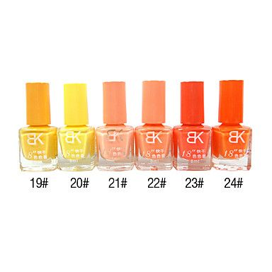 18 Seconds Fashion Classic Fast Dry Nail Polish 8ml – USD $ 2.99