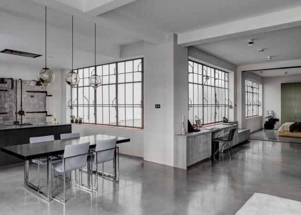 Transformation d'un entrepôt en appartement par APA London