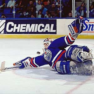 Greatest of all time! Bill Ranford Edmonton Oilers