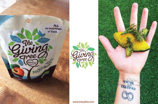 The Giving Tree Pumpkin & Broccoli Vegetable Crisps