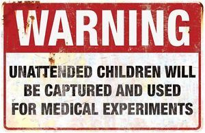 Warning Medical Sign Halloween Party Haunt Prop Haunted House Decoration | eBay