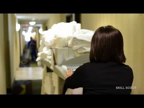 Hotel Housekeeping Featuring Holiday Inn Express - YouTube