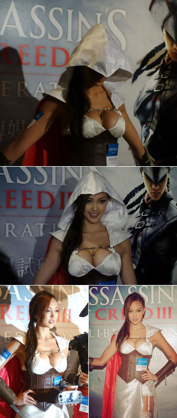 Assassin's Creed #Cosplay - Look at her... me heart is gonna blow!