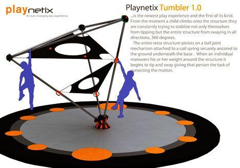 Playnetix Tumbler Children's Playground Equipment by Clifford ...