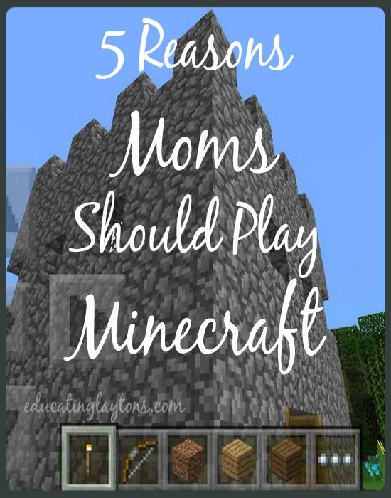 the reasons why you should play minecraft Why play volleyball august 14, 2012 4:09 pm by gaylehope i would like to know reasons why you play volleyball i want to be successful without someone helping me take baby steps i am a club volleyball player i love the sport, it is my passion.