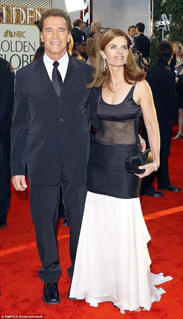 The wife: Maria Shriver filed for divorce after the story of Arnold Schwarzenegger's affai...