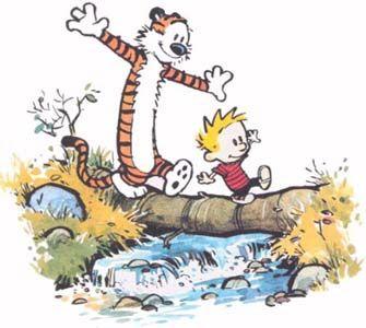 Calvin and Hobbes Last Comic Strip