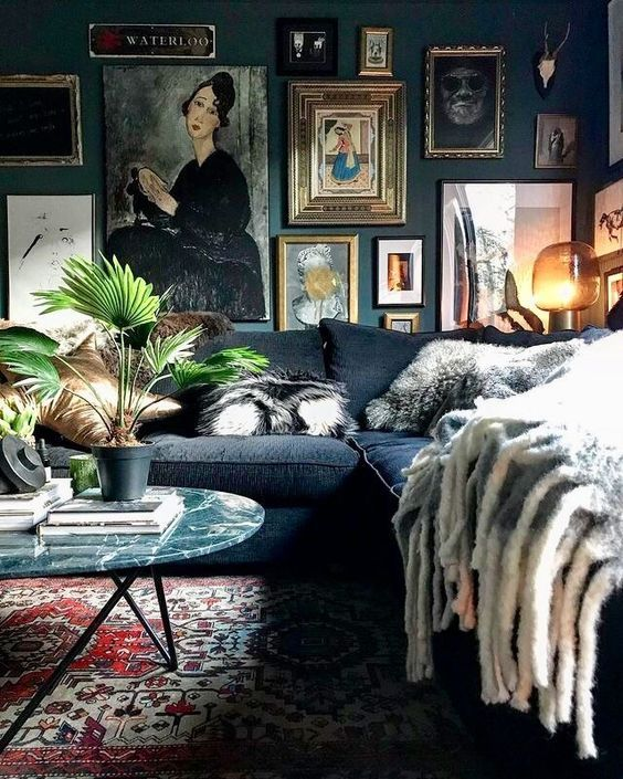 9 Dramatic rooms that will make you feel amazed