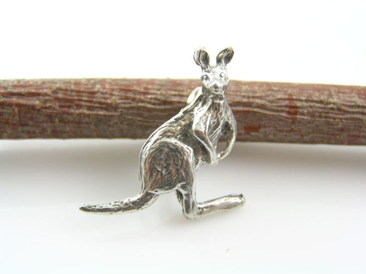 Kangaroo Brooch, Australian Jewelry, Roo Brooch, Tiny Brooch, Cute Pin, Scarf Pin, Lapel Pin, Bug Brooch, Gift Idea, Cute Gift by ClassicMinimalist on Etsy