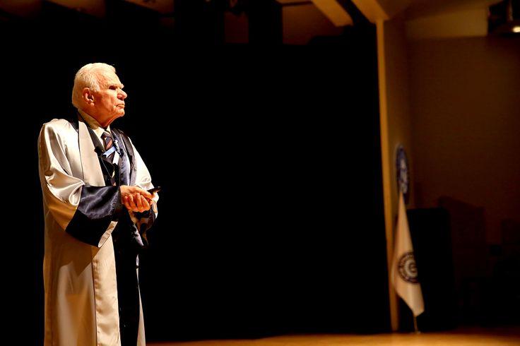 """Prof. Dr. Gazi YAŞARGİL """"Bilimlerin Evrimi"""" başlıklı konuşması"""