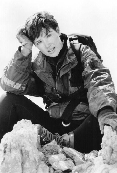 Janine Turner in Cliffhanger (1993)