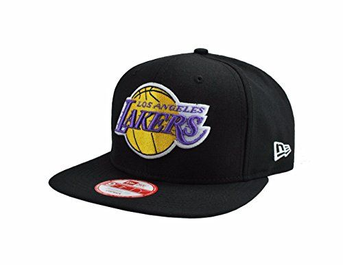 New Era 9fifty Hat Los Angeles Lakers Snapback ONE Size Black Cap - http://weheartlakers.com/lakers-caps/new-era-9fifty-hat-los-angeles-lakers-snapback-one-size-black-cap