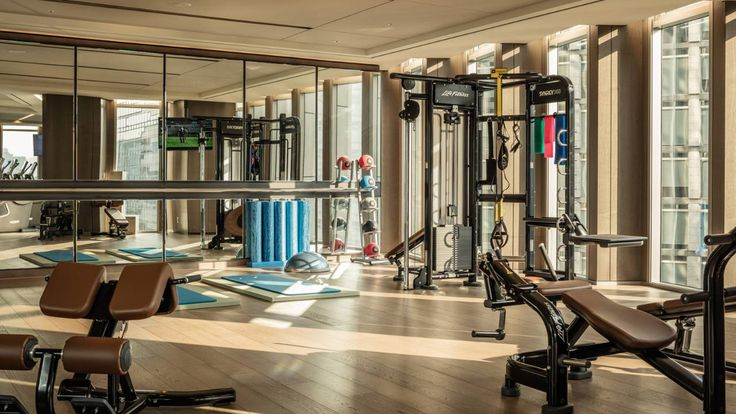 Seoul Hotel Gym Fitness Facilities Four Seasons Hotel Seoul Hotel Gym Fitness Motivation Pictures No Equipment Workout