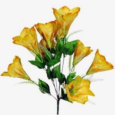 Valentines Day Yellow Flower Bouquet
