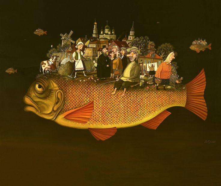 Другие художники-мужчины Простой, как 5 копеек, художник Валентин Губарев, рисующий такую же простую жизнь / Теплота, юмор, камерность Его любят в Европе, а сам он…