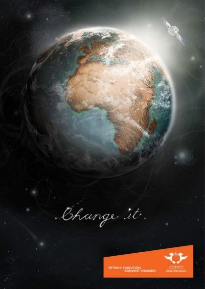 University of Johannesburg: Change it