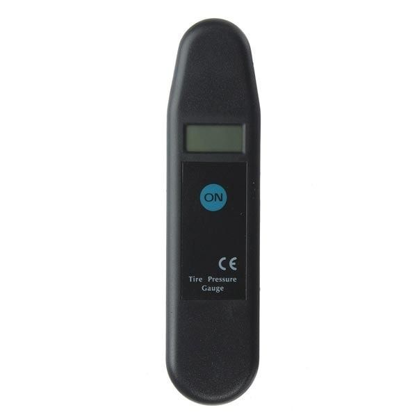 5-150 PSI Digital LCD Tyre Tire Air Pressure Gauge 4 Units. Description:    color: Black  quantity: 1 Pc  dimension: Approx. 14.5cm X 3.5cm X 2.1cm  pressure Range: 5 - 150 Psi  accuracy: ±1%  power: 1 X 2032 Battery (included)  4 Units Display: Psi, Kpa, Bar, Kg/cm2  digital Lcd Display,easy Reading.  accurate And Quick Measuring.  easy Operation.    package Includes:     1 X Digital Tire Gauge
