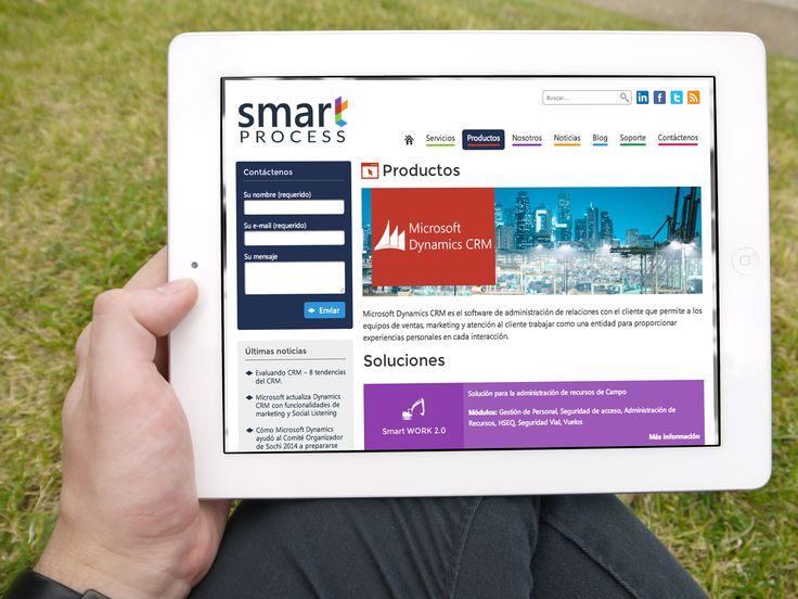 Diseño de Sitio Web Smart Process implementado en Wordpress