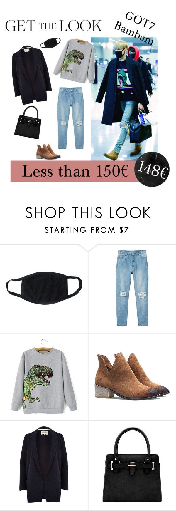 """""""Get The Look : Bambam from GOT7"""" by somewhere-in-neverland24 ❤ liked on Polyvore featuring Monki, River Island, women's clothing, women's fashion, women, female, woman, misses and juniors"""