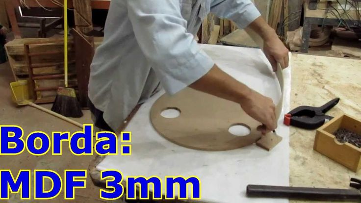 Como fabricar um lustre - Pt 1