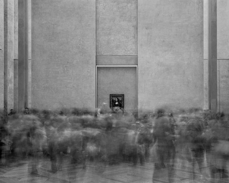 MATTHEW PILLSBURY » La Joconde – Salle des Etats, Le Louvre, 2008