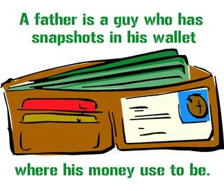Funny Father's day Quote - and so true! #FathersDay