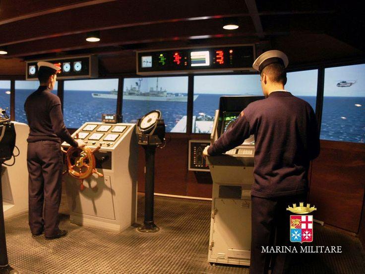 Accademia Navale - simulatore di plancia