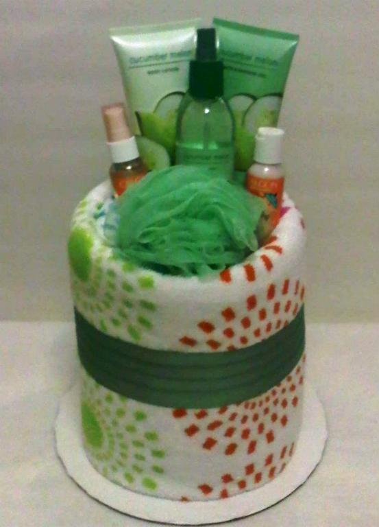 towel cake | Towel Cakes                                                       …