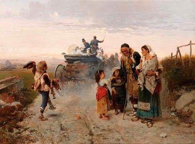 Ελεήμων και ζητιανόπουλα (1874)
