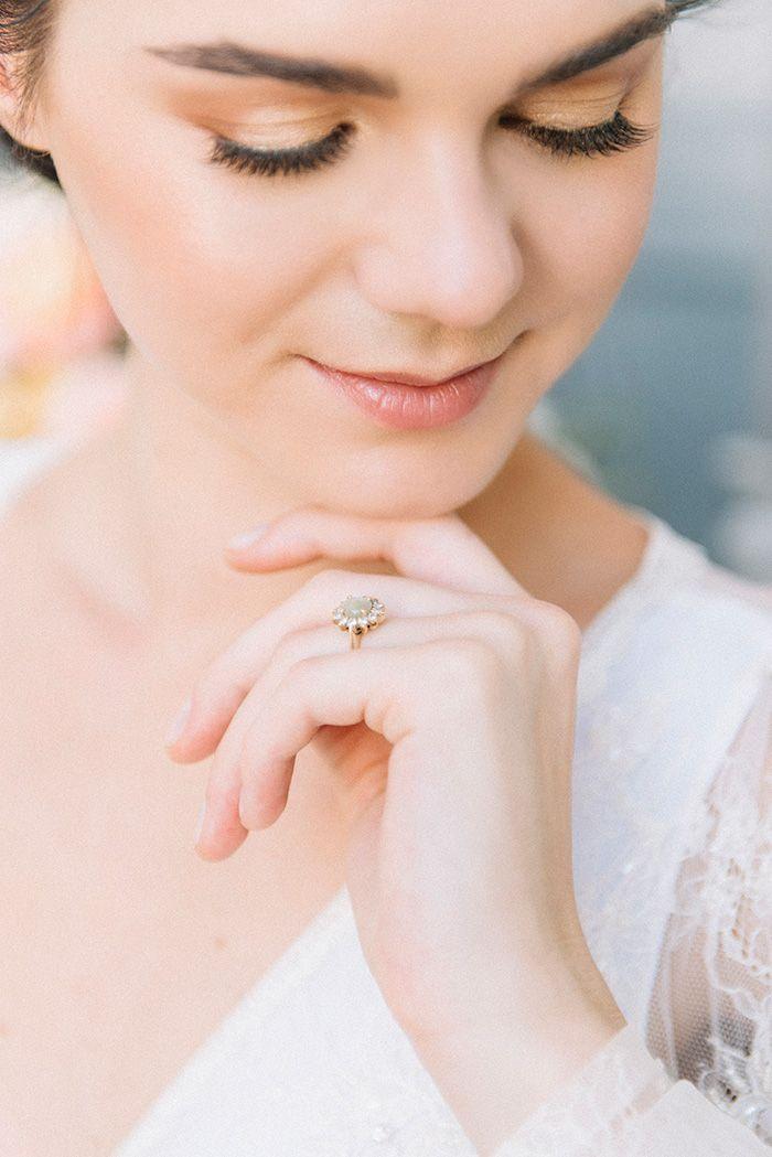 Fresh Rose Gold Bridal Makeup