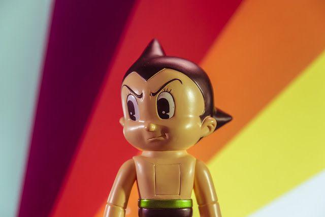 Funko Hikari Astro Boy Professional Photos by Jason Yang of Exclu Collective - Tenacious.Ninja - Art Toy Blog