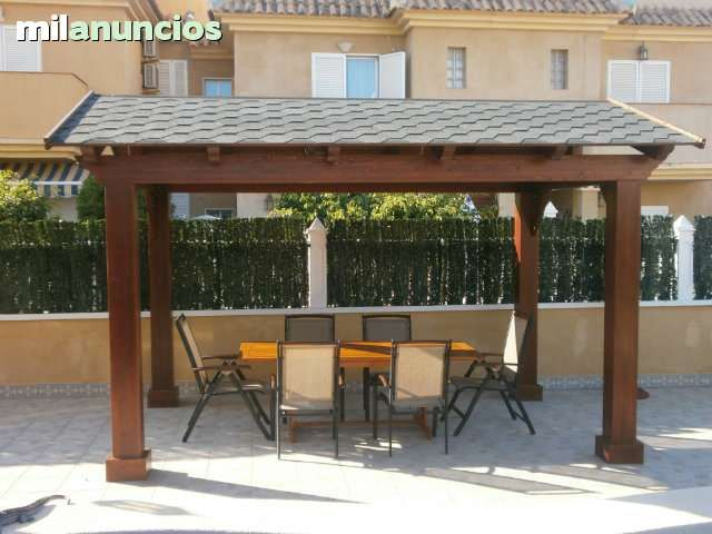 19 best images about pergolas on pinterest stirling for Carpas de madera para jardin