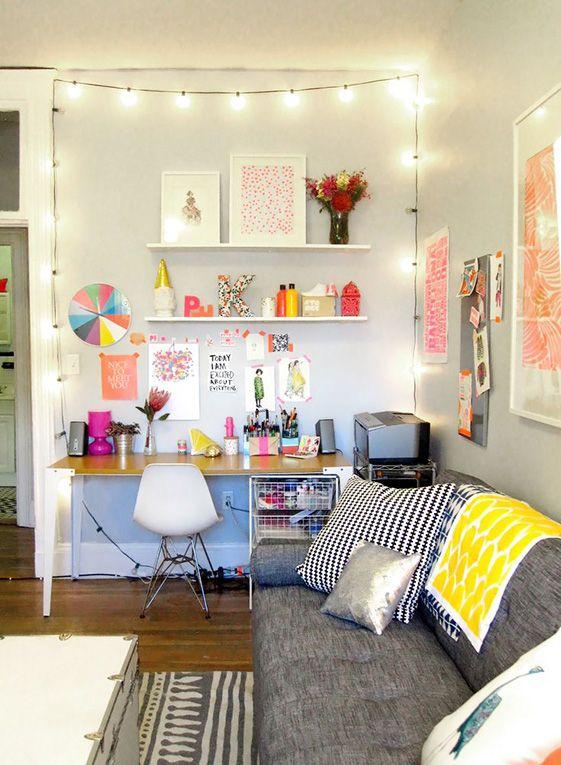 escritorio, espacios de trabajo, oficina, taller, decoración, deco