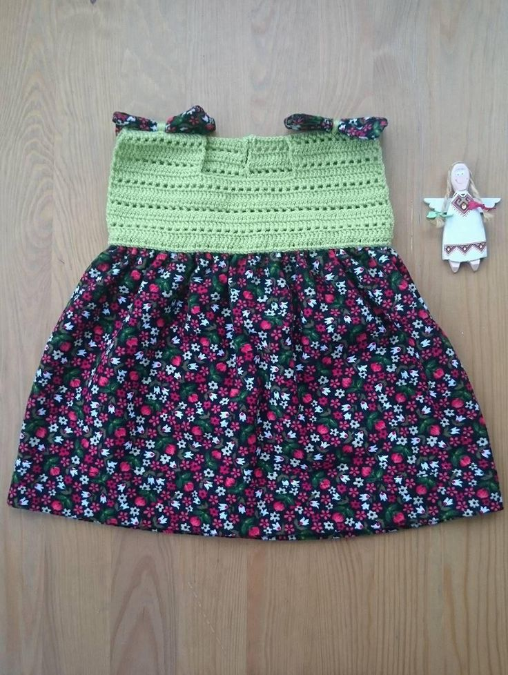 BABY FUSTIAN DRESS. Crochet Baby Dress. Fustian With Flowers. Babygirl Wear. Baby Size For 0-3 Months. Baby Shower. Birthday Gift.