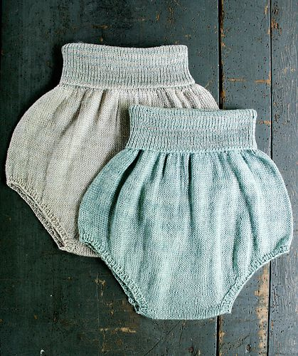 Whit's Knits: Baby Bloomers by the purl bee, via Flickr