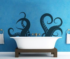 Vinyl Wall Decal Sticker Tentacle by StickerBrand