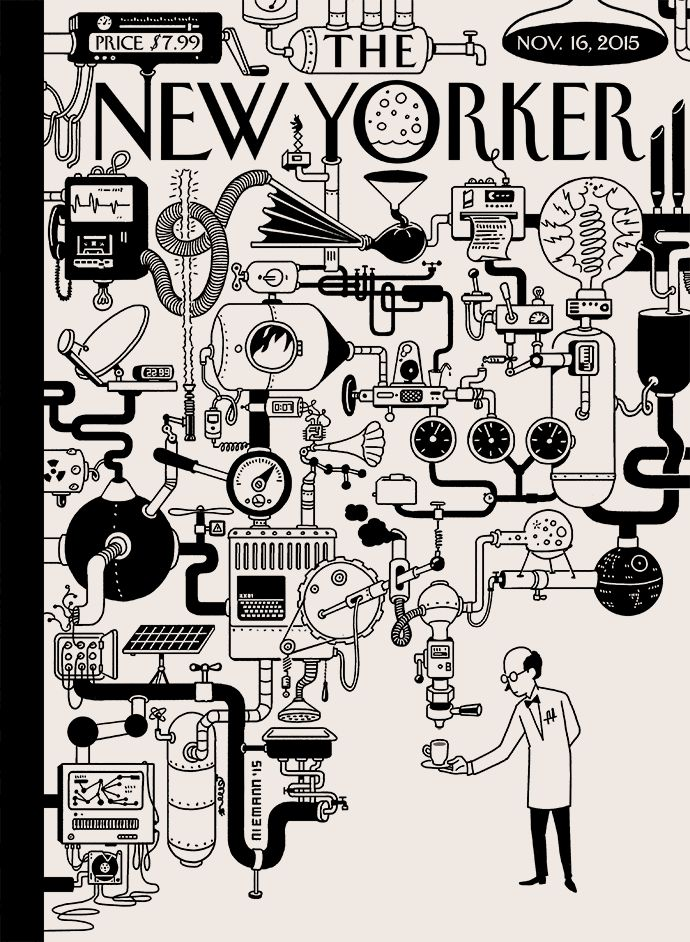 Stunning Christoph Niemann Illustrations for The New Yorker – Fubiz Media