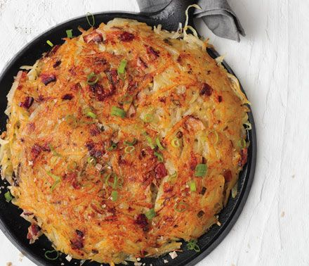 Rosti with Bacon and Scallions BA December 2011 Rösti with Bacon and ...
