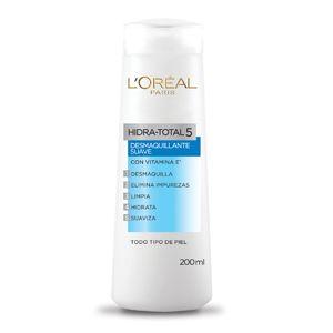 Logra una piel perfectamente hidratada con la leche desmaquillante, de Hidra Total 5, que LOreal Paris tiene para ti.