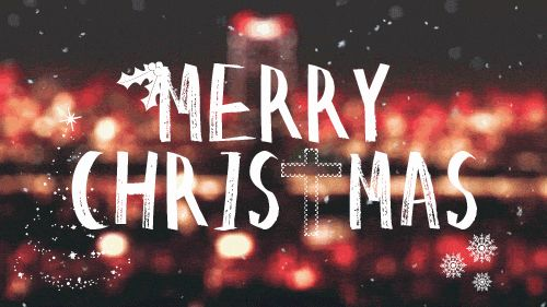 Great Merry Christmas gif images to share on Facebook or your blog. Classic Christmas wishes with Christmas tree background and pretty snow falling over ...