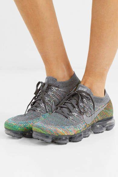 the best attitude 9b7b2 b5735 Nike - Air Vapormax Flyknit Sneakers - Gray