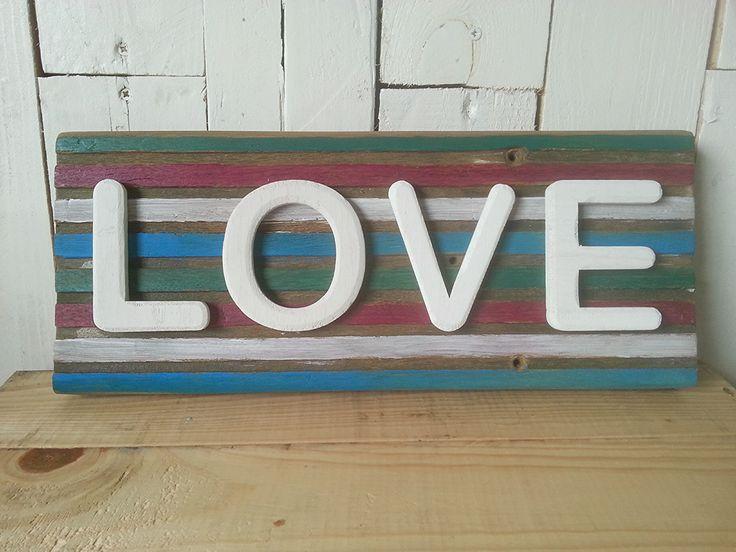 25 beste idee n over verf houten letters op pinterest houten letters schilderen letters - Verf een houten plafond ...