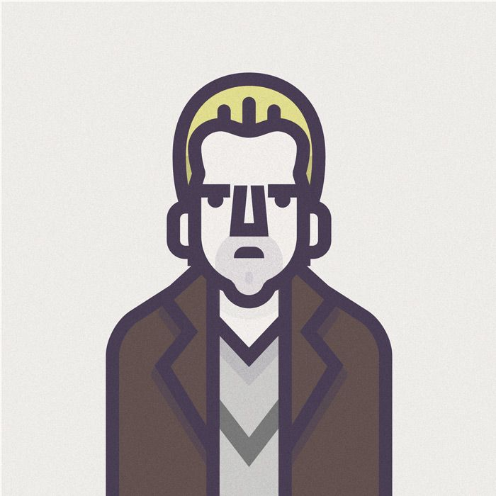 Illustrations Coen Cast, a fun little side project from designer Richard Perez.