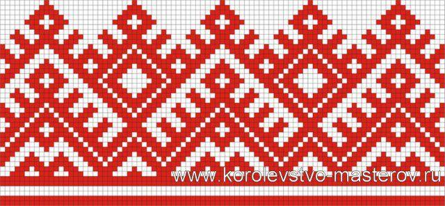 украинская народная вышивка крестом схемы - Поиск в Google