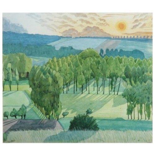 French Landscape, 1919 By John Nash